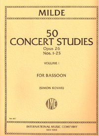 Methods And Collections For Bassoon from Forrests Music