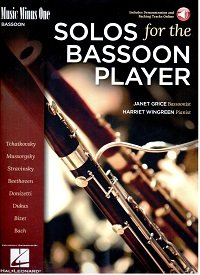 Music Minus One Recordings for bassoon from Forrests Music